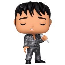 Фигурка Funko POP! Rocks: Elvis Presley: Elvis '68 Comeback Special (DGLT) (Exc)