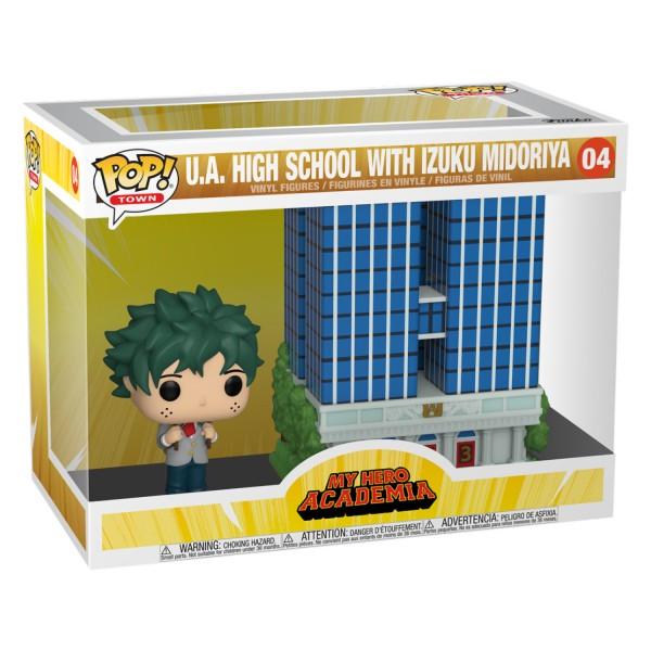 Фигурка Funko POP Town: My Hero Academia U.A. High School With Izuku Midoriya