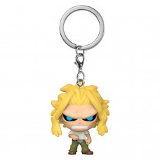 Брелок Funko Pocket POP! My Hero Academia: All Might (True Form)