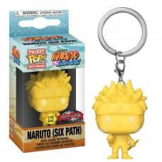 Брелок Funko Pocket POP! Naruto Shippuden: Naruto Six Path (YW) (GW) (Эксклюзив)