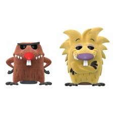 Фигурка Funko POP! Nickelodeon: Angry Beavers: Norbert & Daggett