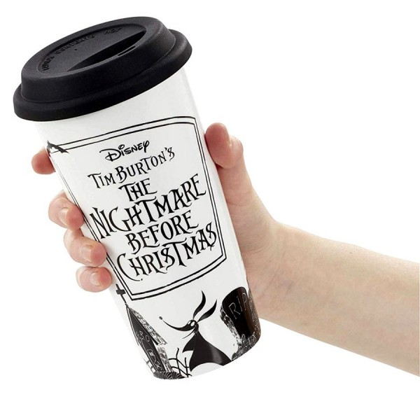 Кружка керамическая Funko NBX: Lidded Mug: Time to Share & Scare NBC05928