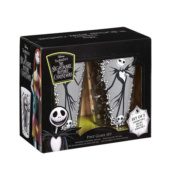 Набор бокалов Funko NBX: Pint Glass Set: Jack & Bones NBC0593