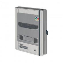 Записная книжка Pyramid: Nintendo: (SNES) Premium A5 Notebook