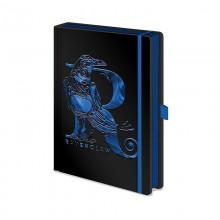 Записная книжка Pyramid: Harry Potter (Ravenclaw Foil) Premium A5