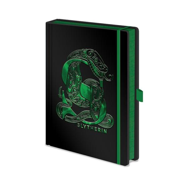 Записная книжка Pyramid: Harry Potter (Slytherin Foil) Premium A5