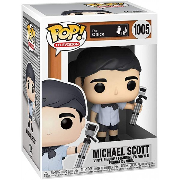 Фигурка Funko POP! Vinyl: The Office: Michael Scott as Survivor