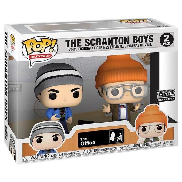 Фигурка Funko POP! Vinyl: The Office: 2PK Scranton Boys (Exc)