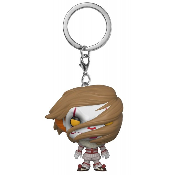 Брелок Funko Pocket POP!: IT S2: Pennywise with Wig