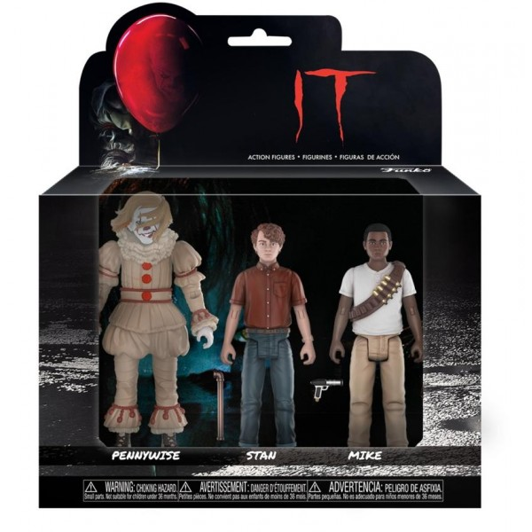 Набор фигурок Funko Action Figures: IT: 3PK Set из фильма «Оно»