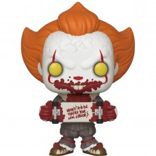 Фигурка Funko POP! Vinyl: IT Chapter 2: Pennywise with Skateboard
