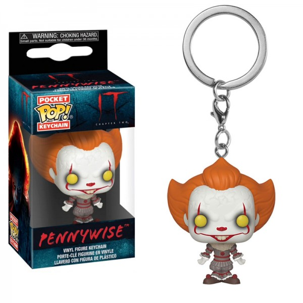 Брелок Funko Pocket POP! Keychain: IT Chapter 2: Pennywise With Open Arms