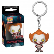 Брелок Funko Pocket POP! Keychain: IT Chapter 2: Pennywise w/ Skateboard (Эксклюзив)