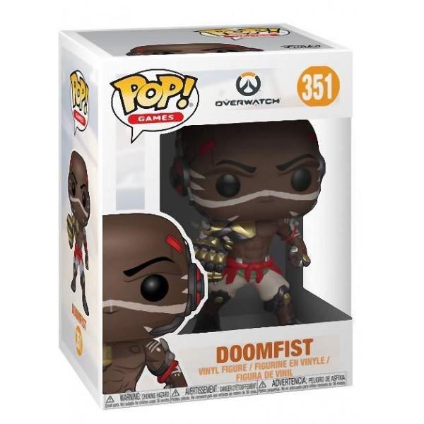 Фигурка Funko POP! Vinyl: Games: Overwatch S4: Doomfist