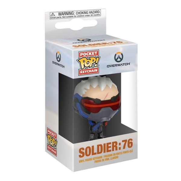 Брелок Funko Pocket POP! Overwatch: Soldier 76