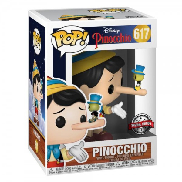 Фигурка Funko POP! Disney: Pinocchio with Jiminy