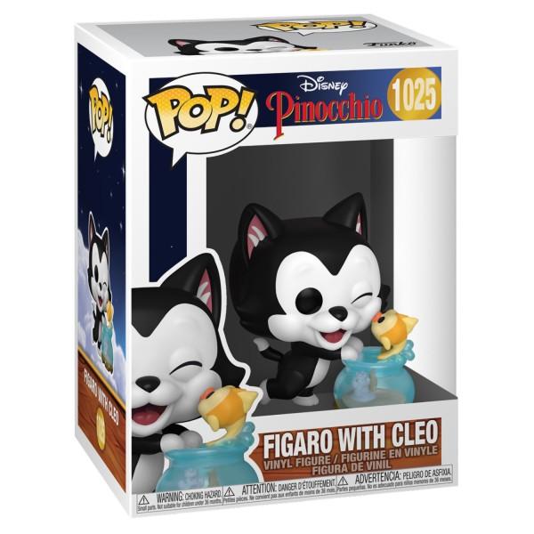 Фигурка Funko POP! Disney: Pinocchio: Figaro with Cleo