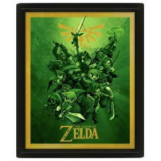 3D Постер: Nintendo: The Legend Of Zelda (Link)
