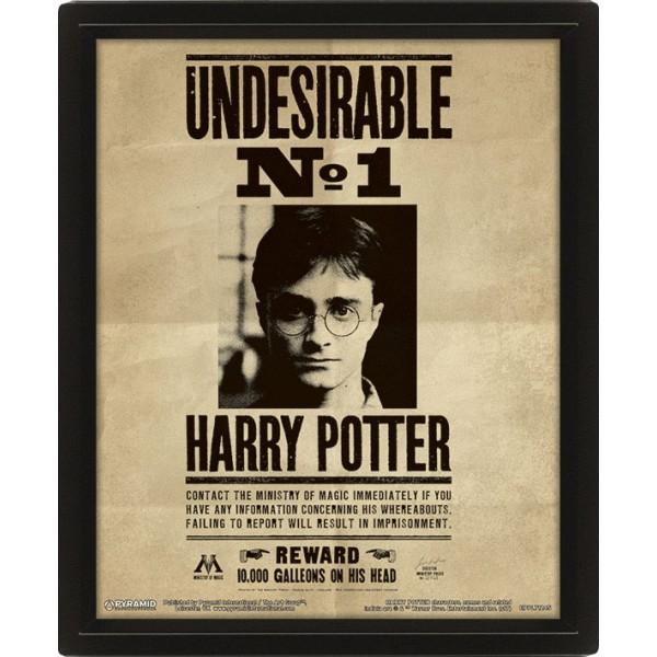3D Постер Harry Potter: Potter / Sirius