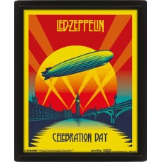 3D Постер: Led Zeppelin (Celebration Day)