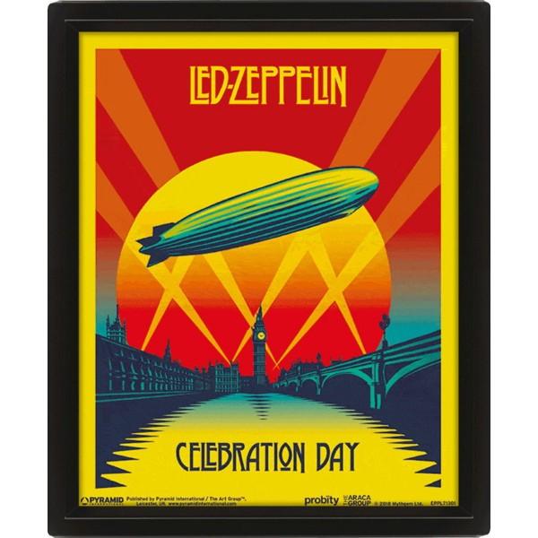 3D Постер Led Zeppelin (Celebration Day)