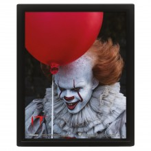 3D Постер IT (Pennywise Evil)