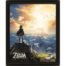 3D Постер: The Legend Of Zelda (Sunset)