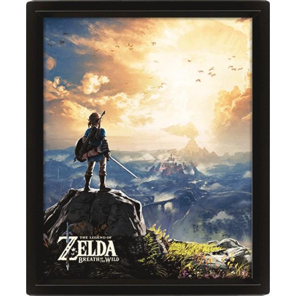 3D Постер Pyramid: Nintendo: The Legend Of Zelda (Sunset)