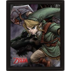 3D Постер Pyramid: Nintendo: The Legend Of Zelda Twilight Princess
