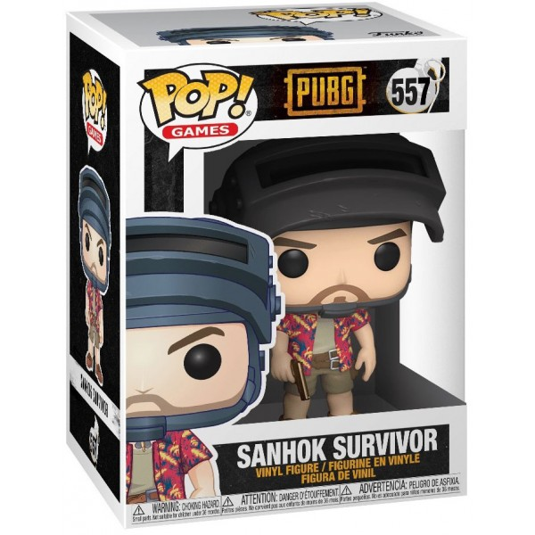Фигурка Funko POP! Vinyl: Games: PUBG: Sanhok Survivor