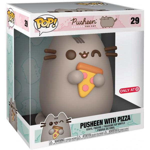 Фигурка Funko POP! Vinyl: Pusheen: Pusheen with Pizza (Эксклюзив)