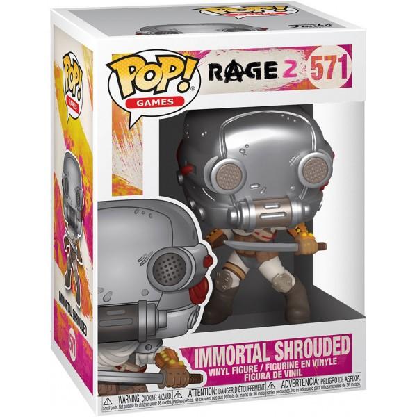 Фигурка Funko POP! Vinyl: Games: Rage 2: Immortal Shrouded