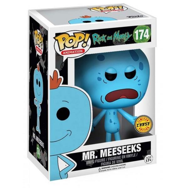 Фигурка Funko POP! Vinyl: Rick & Morty: Mr. Meeseeks (Chase)