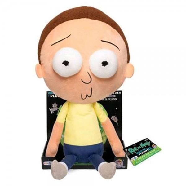 "Мягкая игрушка Funko Galactic Plushies: Rick & Morty: 16"" Morty w/ Tray (Эксклюзив)"
