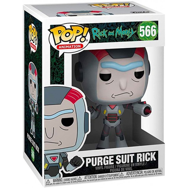 Фигурка Funko POP! Vinyl: Rick & Morty S6: Rick in Purge Suit