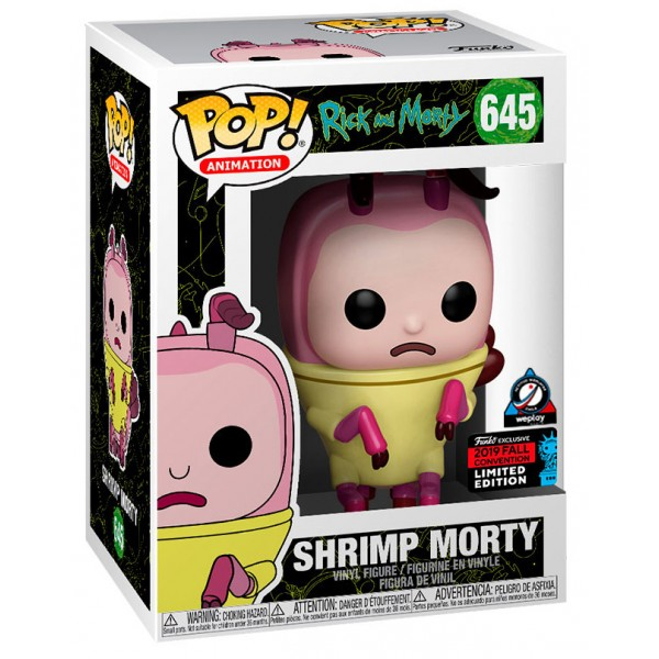 Фигурка Funko POP! Vinyl: NYCC Exc: Shrimp Morty (Эксклюзив)