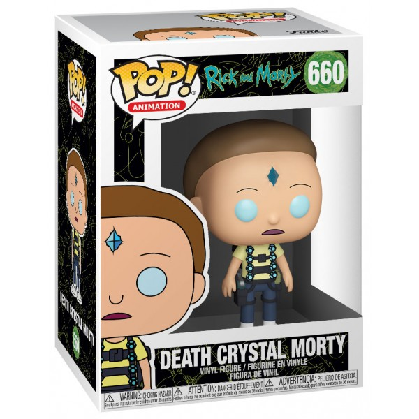 Фигурка Funko POP! Vinyl: Rick & Morty: Death Crystal Morty