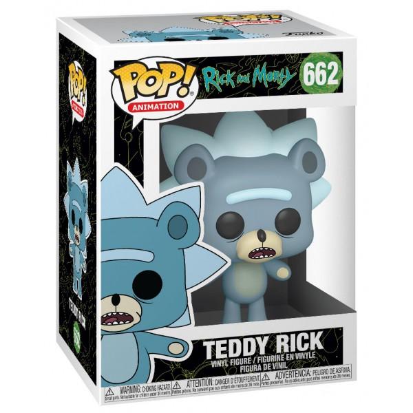 Фигурка Funko POP! Vinyl: Rick & Morty: Teddy Rick