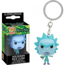 Брелок Funko Pocket POP! Rick & Morty: Hologram Rick Clone
