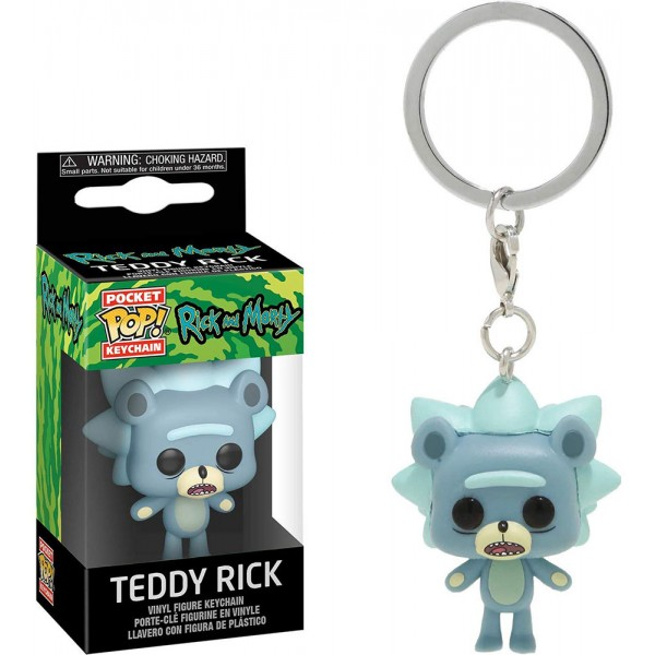 Брелок Funko Pocket POP! Keychain: Rick & Morty: Teddy Rick