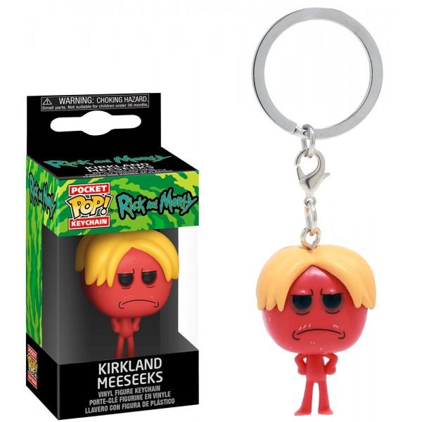 Брелок Funko Pocket POP! Keychain: Rick & Morty: Kirkland Meeseeks