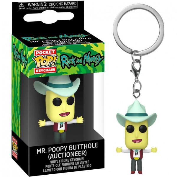 Брелок Funko Pocket POP! Keychain: Rick & Morty: Mr. Poopy Butthole