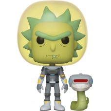 Фигурка Funko POP! Vinyl: Rick & Morty: Space Suit Rick with Snake