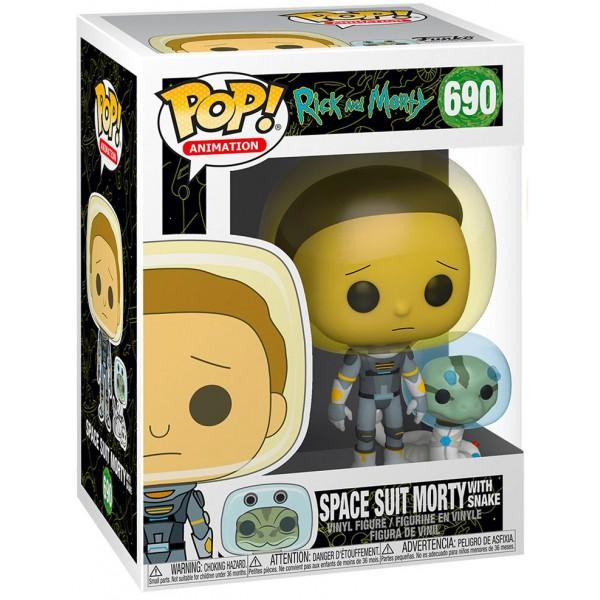 Фигурка Funko POP! Vinyl: Rick & Morty: Space Suit Morty with Snake
