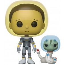 Фигурка Funko POP! Vinyl: Rick & Morty: Space Suit Morty with Snake