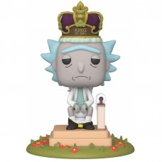 Фигурка Funko POP! Deluxe: Rick & Morty: King of $#!+ with Sound