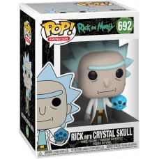 Фигурка Funko POP! Vinyl: Rick & Morty: Rick with Crystal Skull