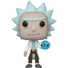 Фигурка Funko POP! Vinyl: Rick & Morty: Rick with Crystal Skull