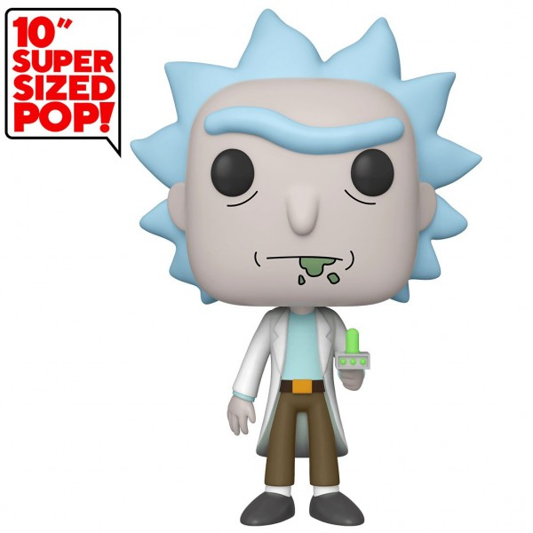 Фигурка Funko POP! Vinyl: Rick & Morty: Rick with Portal Gun (Эксклюзив)