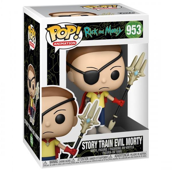 Фигурка Funko POP! Animation: Rick & Morty: Story Train Evil Morty